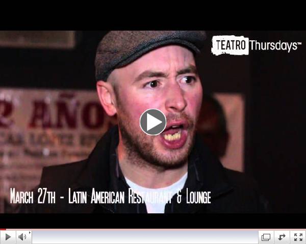 New Teatro Thursdays on Paseo Boricua - by Urban Teater Company & DSBDA