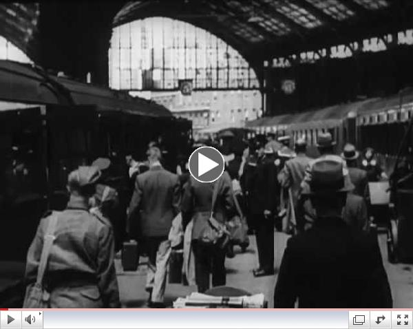 Groundbreaking Southern Railway WWII film, featuring its wartime women workers.