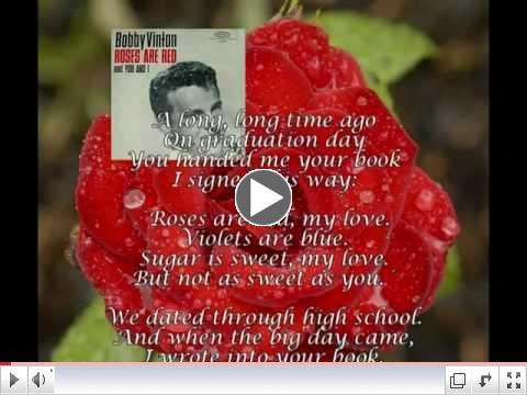 Roses Are Red (My Love) - Bobby Vinton