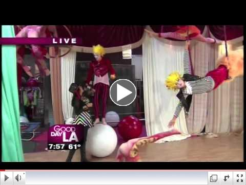 FOX News LA Le PeTiT CiRqUe 6/6/2012 FULL VIDEO