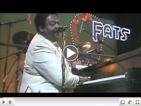 Fats Domino - Blueberry hill 1985