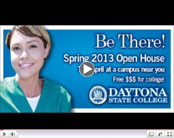 Spring Open Houses at Daytona State College