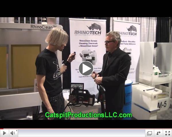 ISS Screen Printing Show: Heavy Duty Pressure Washer