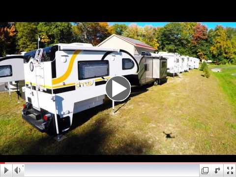 Truck Camper Warehouse in Chesterfield NH - Aerial Tour
