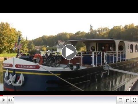 The 8 Passenger Hotel Barge Renaissance - Luxury Cruises in Western Burgundy/Upper Loire