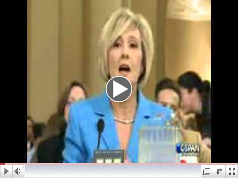 Emotional Testimony of Becky Gerritson over IRS Scutiny before Congress Committee