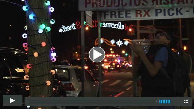 Aurora Sound Reactive Lighting - Harlem New York City