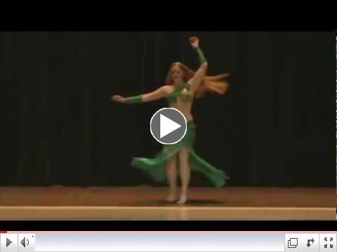 Nyla Crystal - Sacramento Belly Dancer Promo