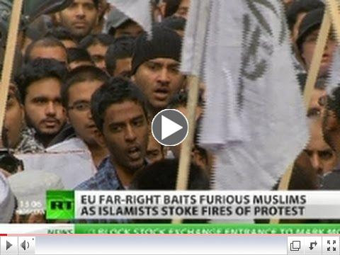 Movie Jihad? Muslims call for 'holy war' as film fury spreads to Europe