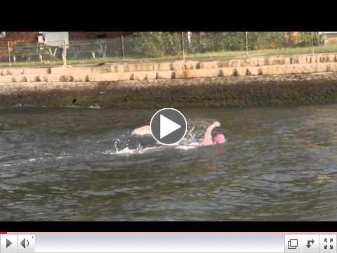 LIberty Island Swim 2012