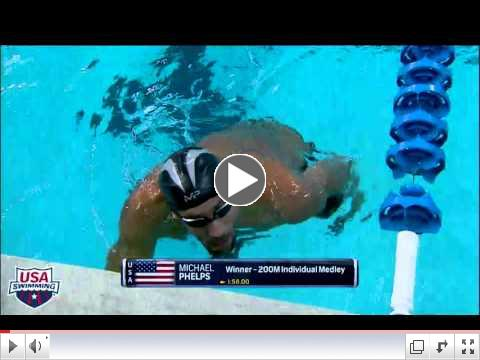 2016 Arena Pro Swim Series at Austin Men's 200m IM A Final