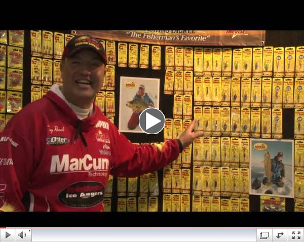 New Northland Fishing Tackle Ice Products for 2014