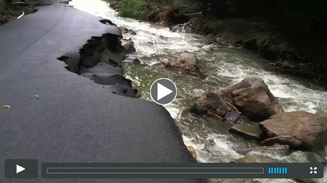 Buffalo Mountain Camp Damage