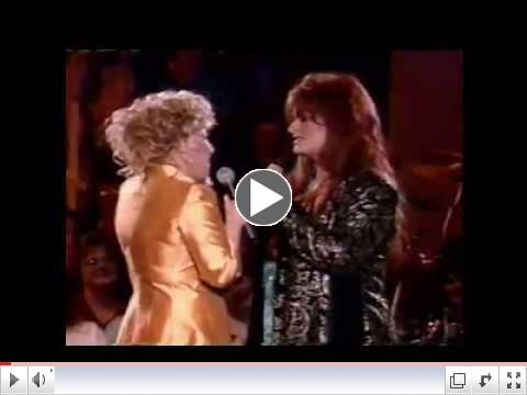 Bette Midler The Rose BEST DUET  With Ms. Judd