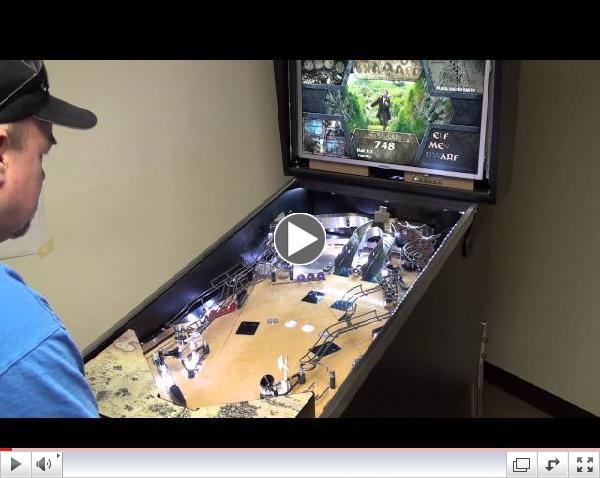 Early Version Whitewood - The Hobbit Pinball Machine - JJP