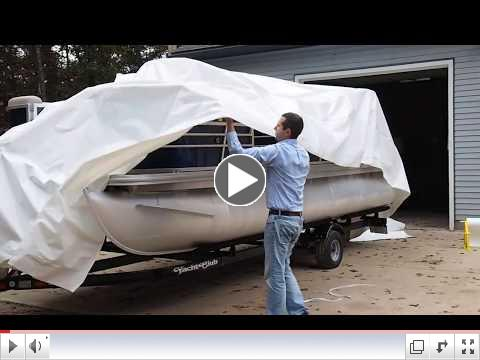 How-To Shrink Wrap a Pontoon Boat for Storage