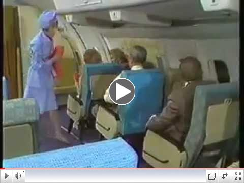 No Frills Airline - The Carol Burnett Show