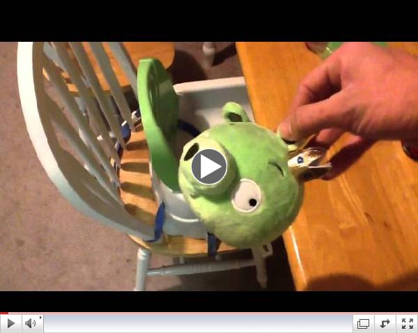 Angry Birds Piñata - How To Make For A Birthday Party