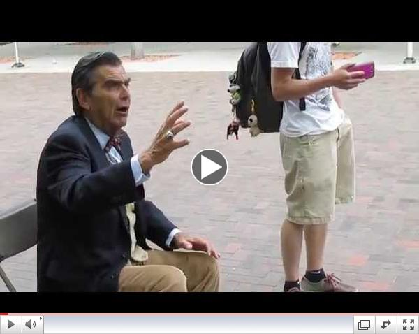 More Fun with Jesus at Boise State, May 8 2014, part 2 of 3
