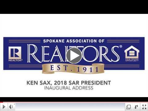 2018 SAR President Ken Sax - Inaugural Address