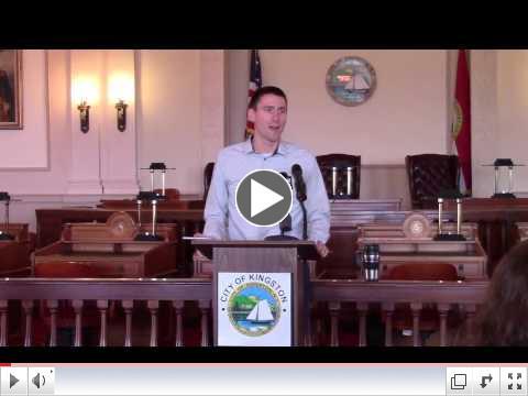 Mayor Noble holds press conference on December 9, 2016