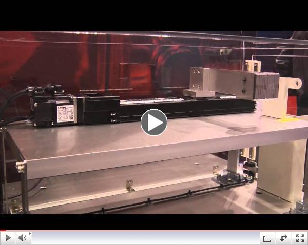Mitsubishi Electric MR-J4 Vibration Demo
