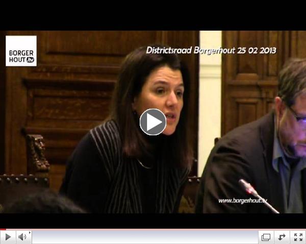 Interpellatie Nahima Lanjri Moorkensplein deel 3 DR Borgerhout 25 02 2013