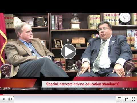 Click here to watch Wayne Christian speak with Charlie Garza on the State Board of Education!