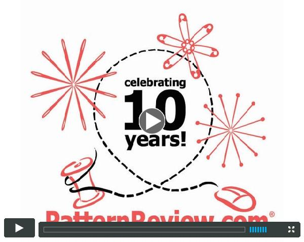 10 Years of PatternReview.com - A look back video