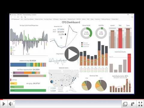 Financial Analytics with DataSelf and Tableau - 35 min.
