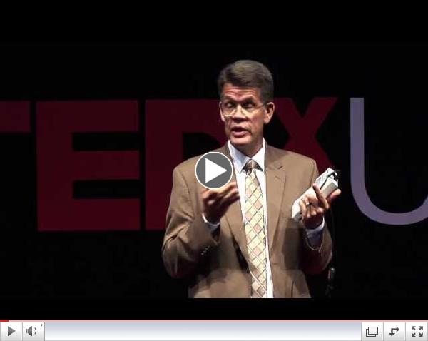 Establishing a sound foundation for children who are deaf or hard of hearing: Karl White at TEDxUSU