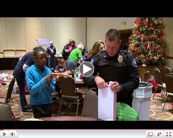 Shop with a Blue Springs Cop Event 2014