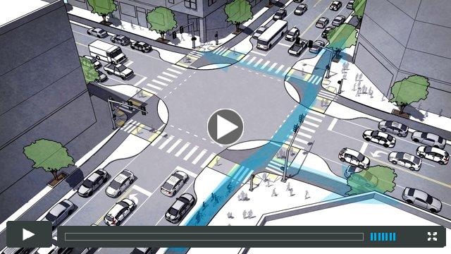 Protected Intersections For Bicyclists