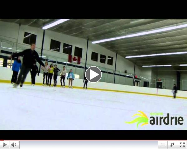 Clovis in the Community - Airdrie Skating Club