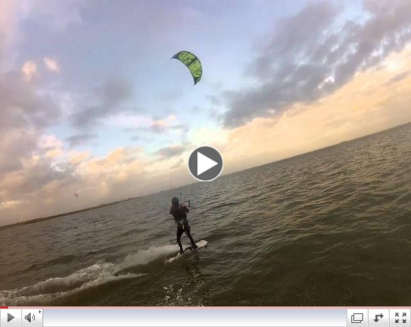 Brad Saxon with Houston Kiteboarding 12/19/13