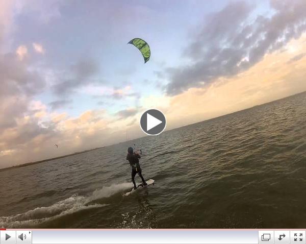 Brad Saxon with Houston Kiteboarding 12/19/13