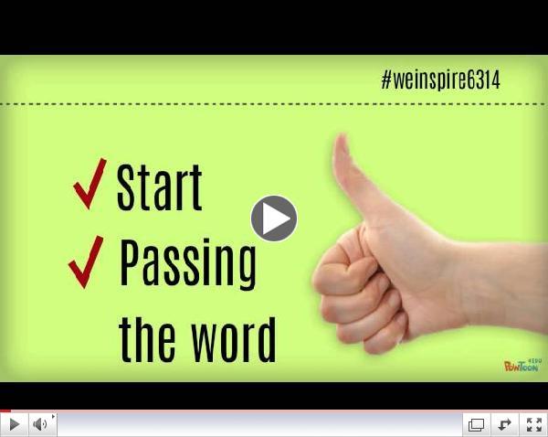 #weinspire6314 Promo I