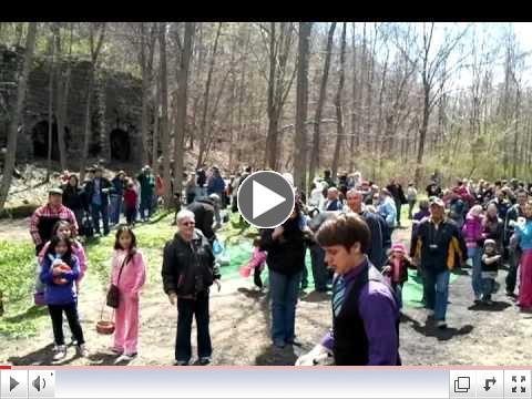 Easter Bunny Train Ride Phillipsburg NJ                                                       & Josh Horton