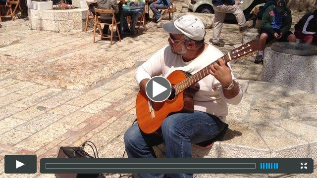 Music on the Streets of Jerusalem