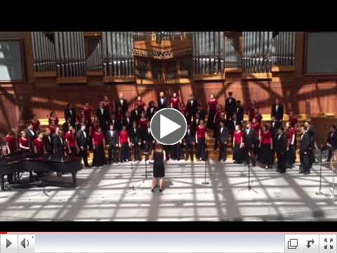 Witness Performed by Concert Choir at St. Andrews