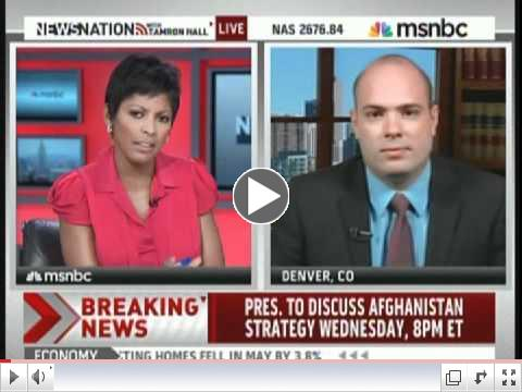 UAH Alum, Richard Smith, on MSNBC