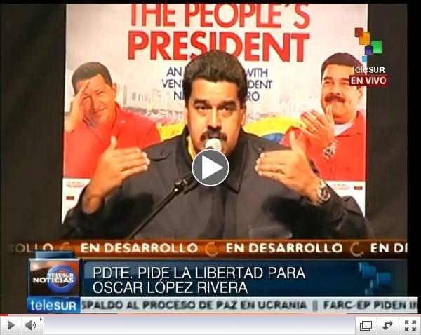 Libertad para Oscar López Ribera y los antiterroristas cubanos: Maduro