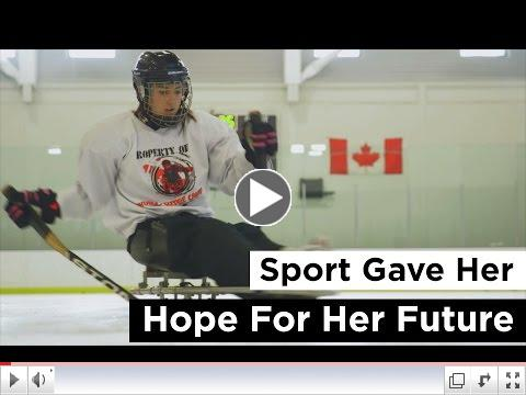 Sport Gave Her Hope for the Future