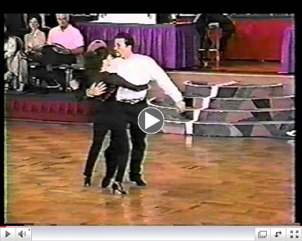 Jason Colacino & Gina Brown - 1st Place Street Swing - 1996 US Open