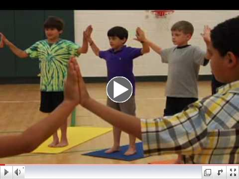 Yoga for Physical Education DVD - TFS