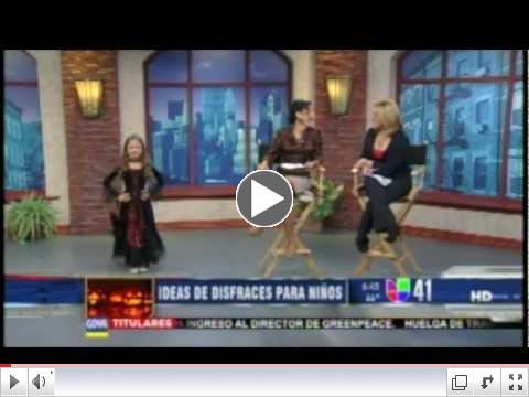 Disfraces de Halloween Mas Populares 2011 en Unvision Al Despertar
