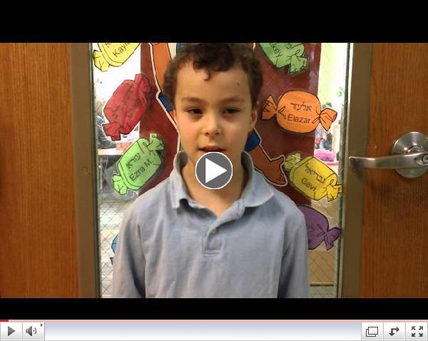 Hillel Academy Weather Report - Monday, November 24, 2014
