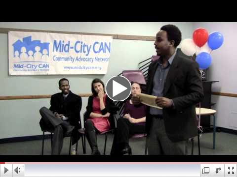 Listen to Mid-City CAN's three new Coordinating Council members talk about why they want to serve