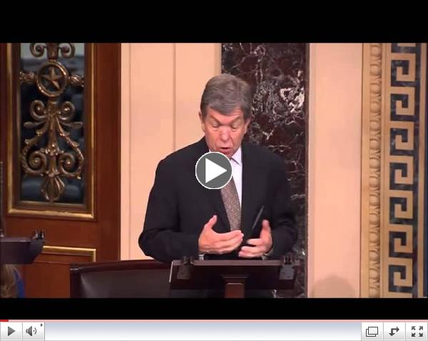 Senator Blunt Highlights Support For Religious Freedom In Hobby Lobby Supreme Court Case 3/25/14
