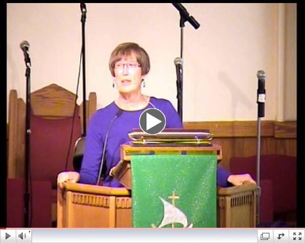 Sermon September 15, 2013. Welcome back Pastor MaryAnn